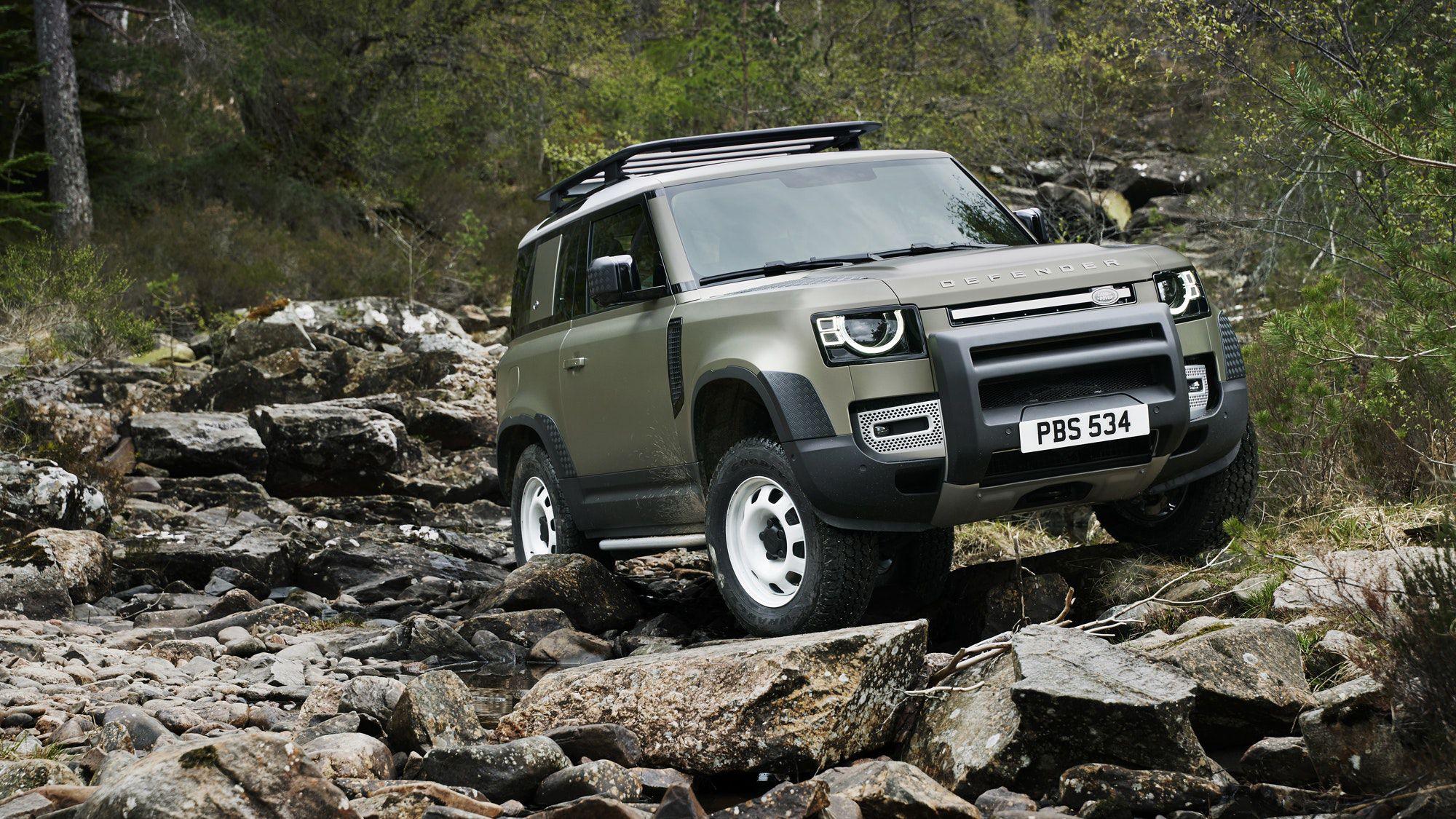 SUV — Land Rover Defender
