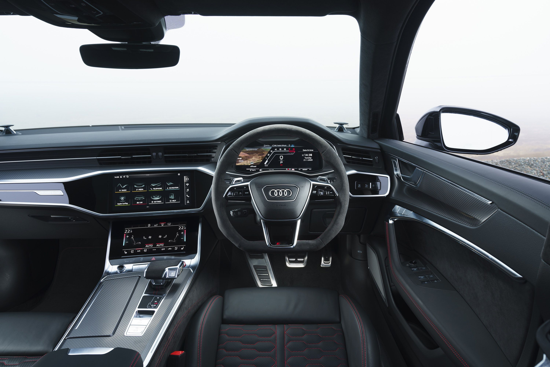Interior of Audi rs6 Avant