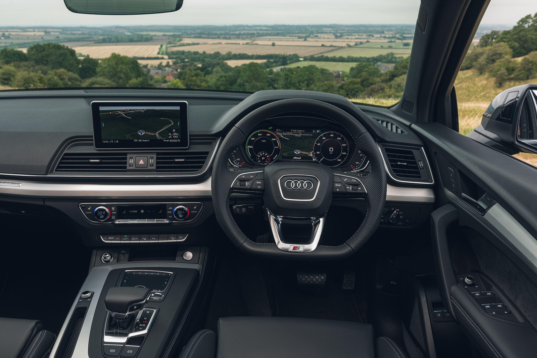 Interior of Audi Q5 TFSI e