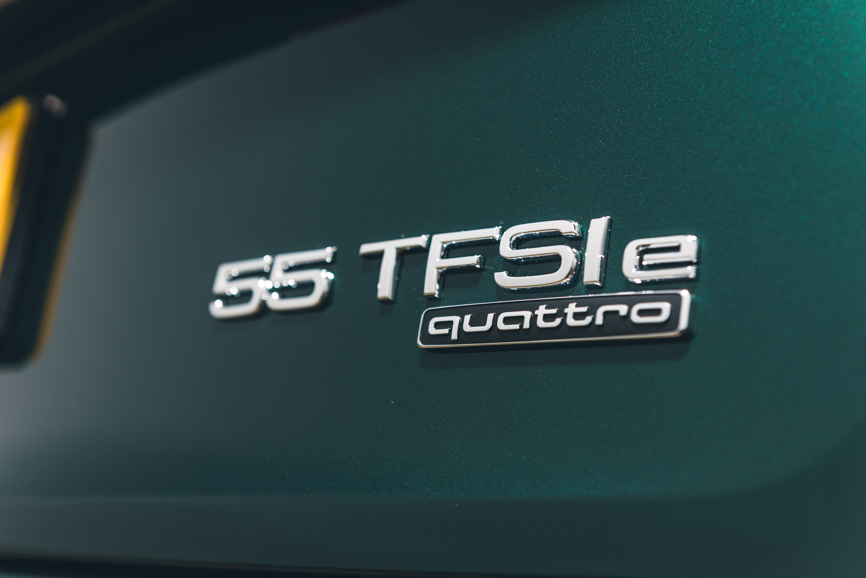 Audi Q5 TFSI e badging