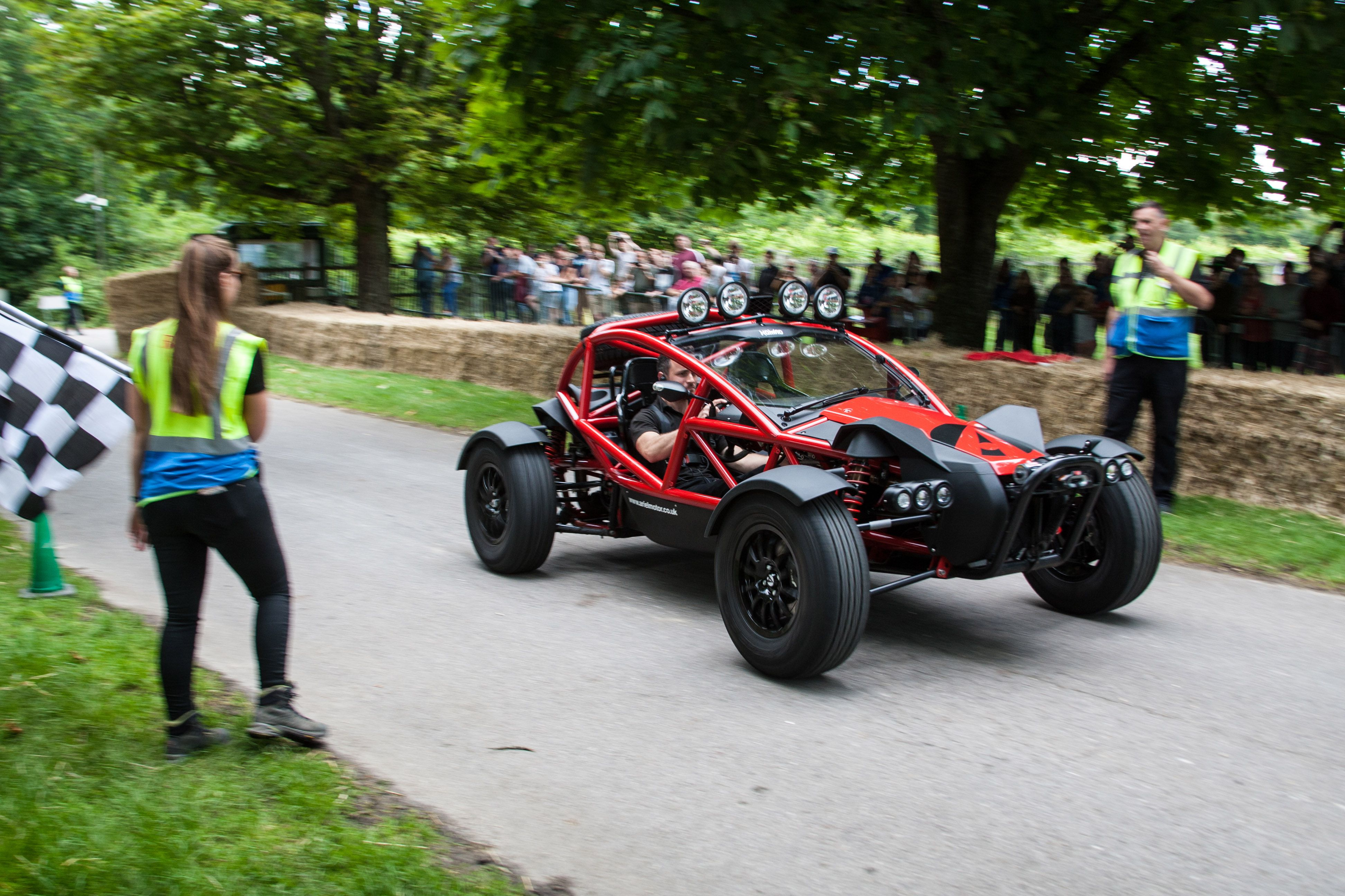 Red Ariel Nomad