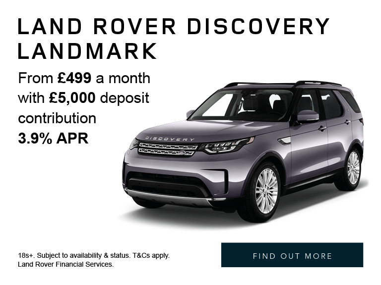 Land Rover Discovery Landmark - From £499 per month