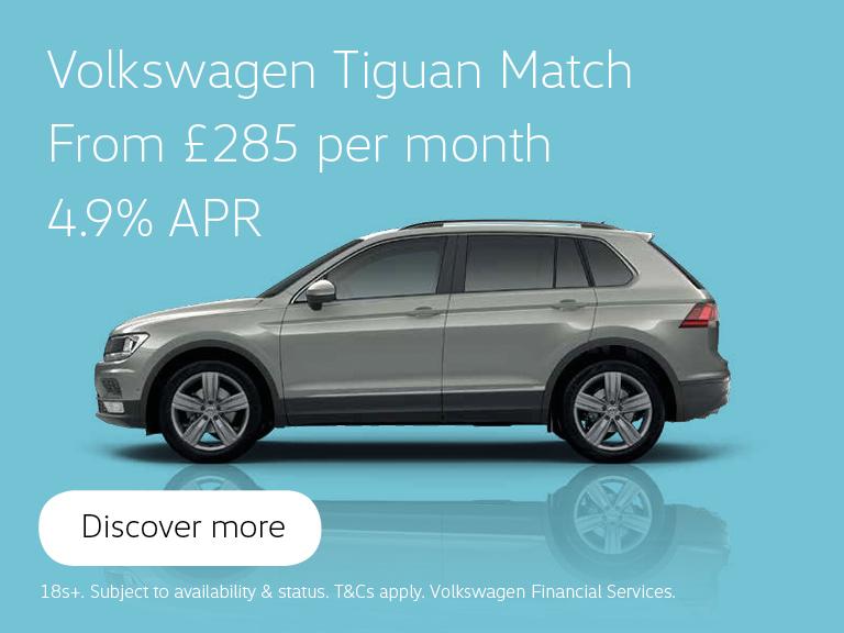 Volkswagen Tiguan Match - From £285 per month