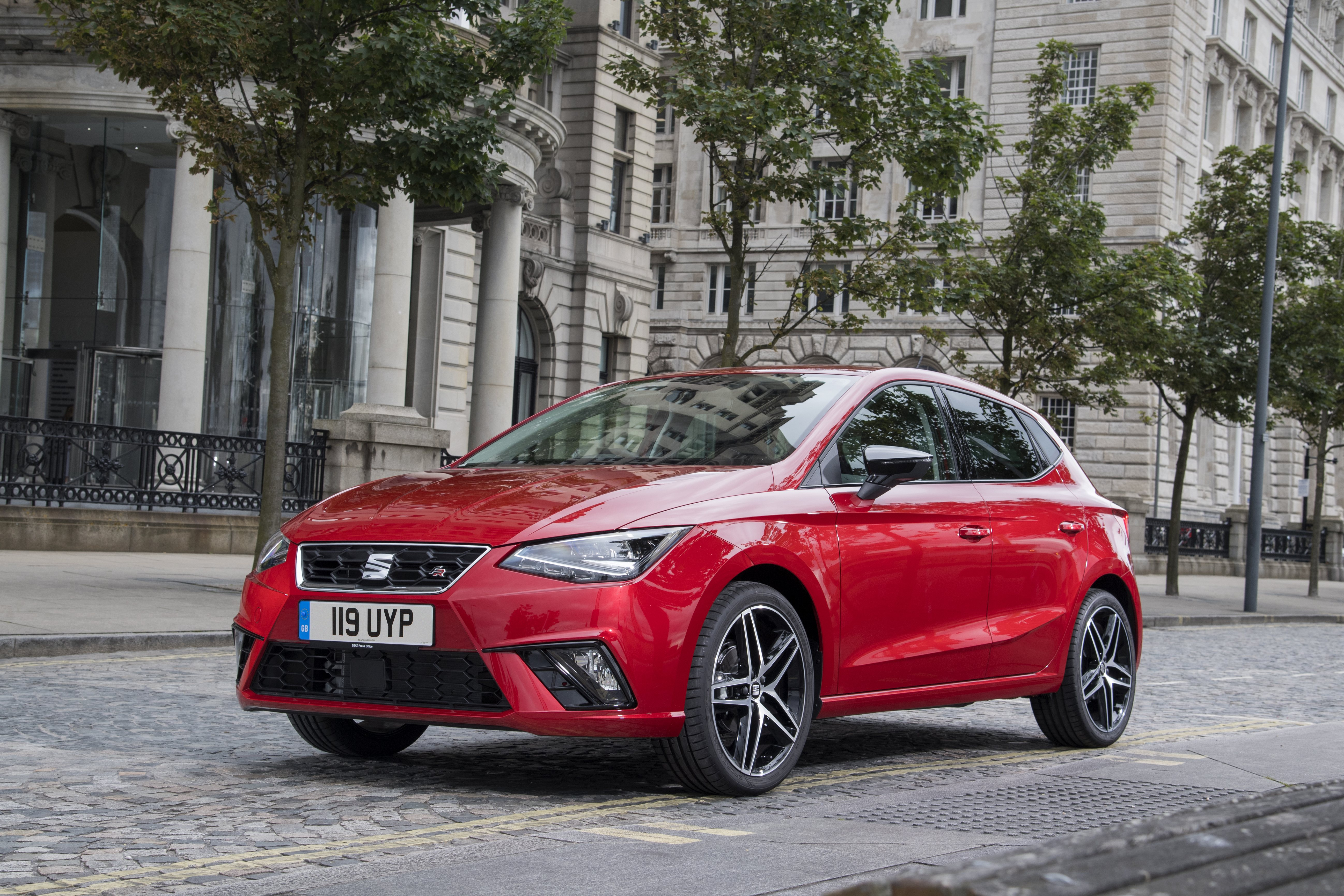 SEAT Ibiza FR parked on the street