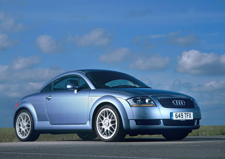 Silver Audi TT 1990s