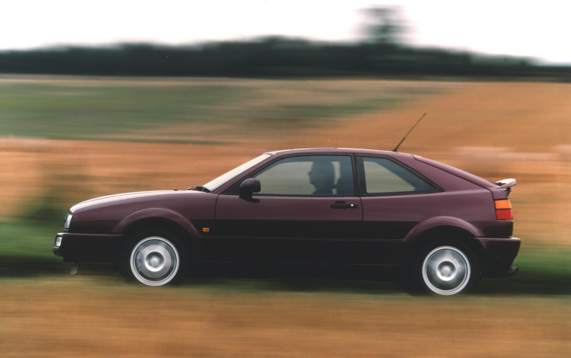 Purple 1990s Volkswagen Corrado