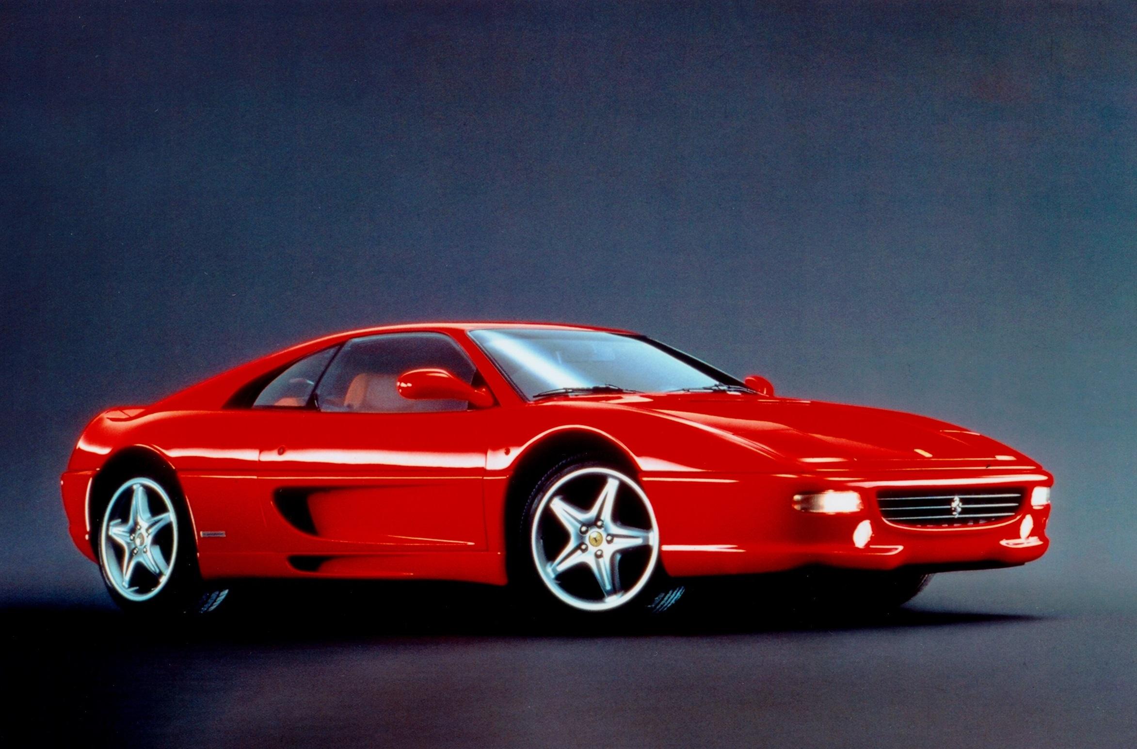 Red 1990s Ferrari F355