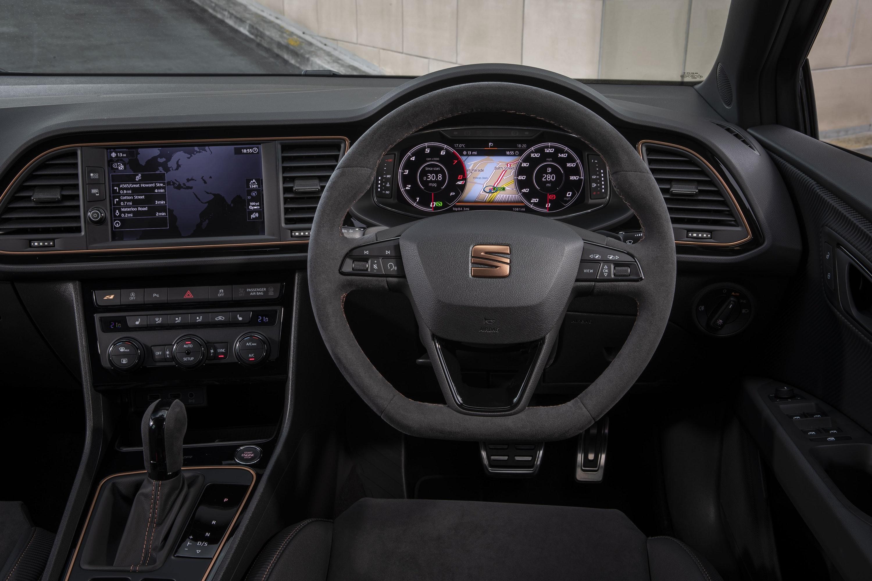 Interior of SEAT Leon Cupra ST ABT