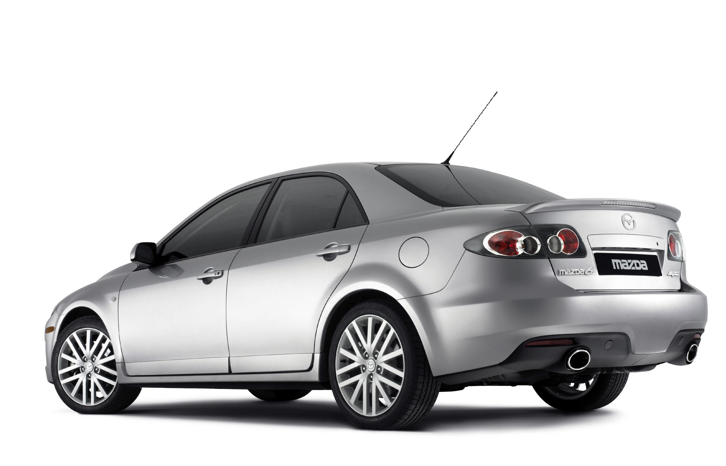 Mazda 6 mps Silver