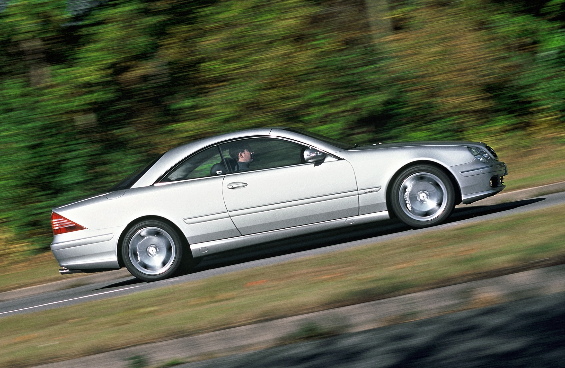 Mercedes-Benz CL55 AMG driving