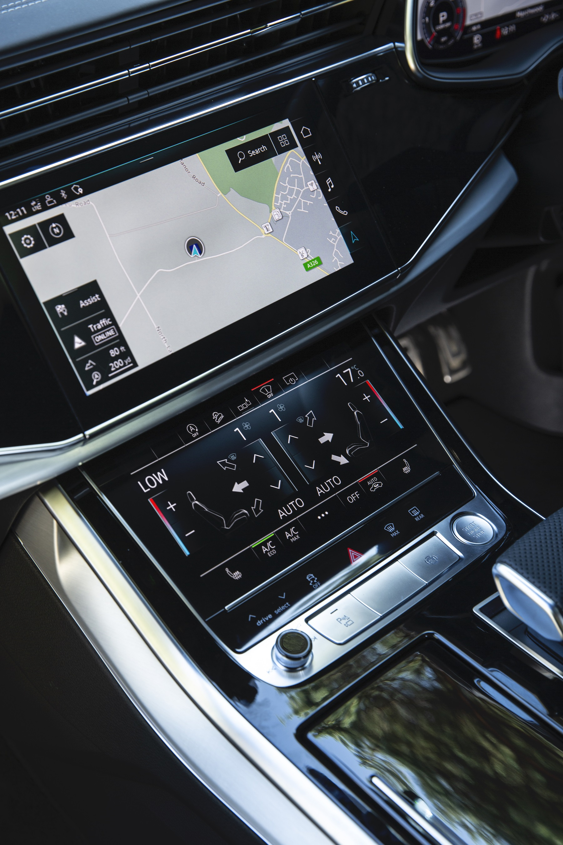 New Audi Q7 Twin Touchscreen