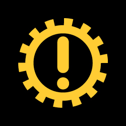automatic gearbox warning light