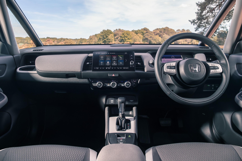 Interior of the Honda Jazz Crosstar
