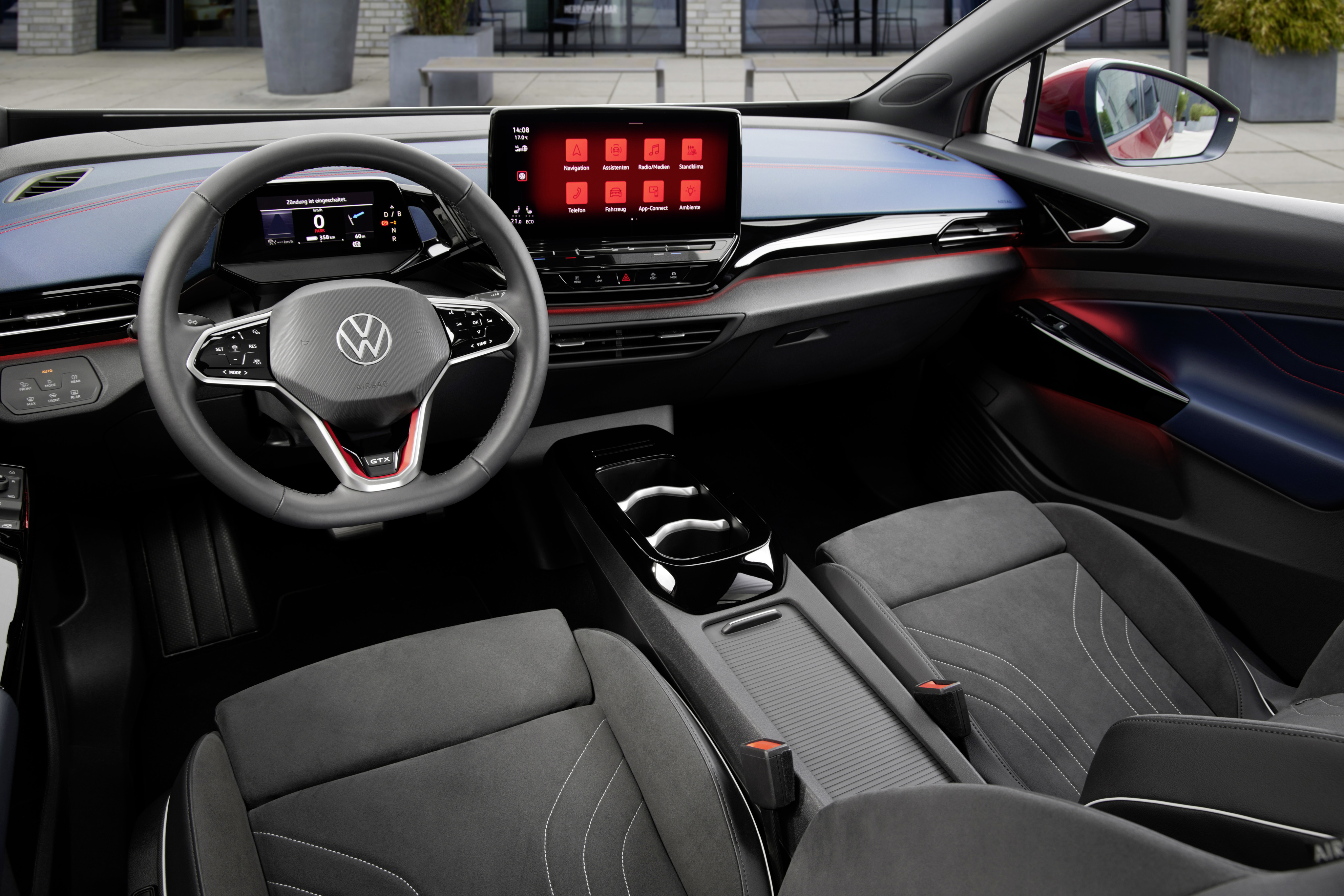 Image Shows Interior Of Volkswagen ID.4 GTX