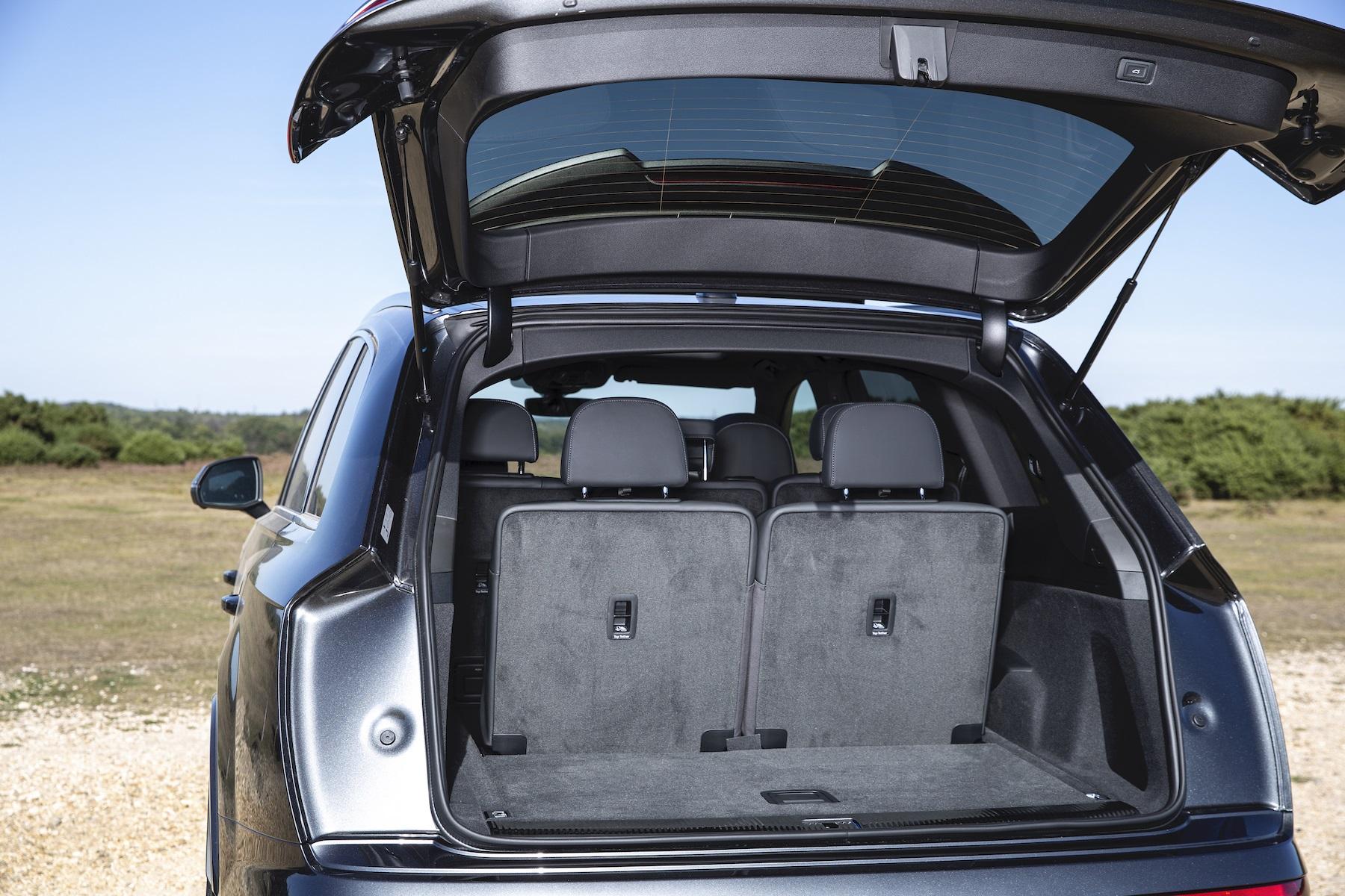 Audi Q8 still has a fairly massive 605-litre boot