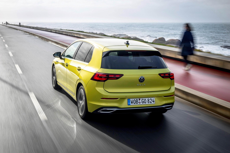 Volkswagen Golf driving