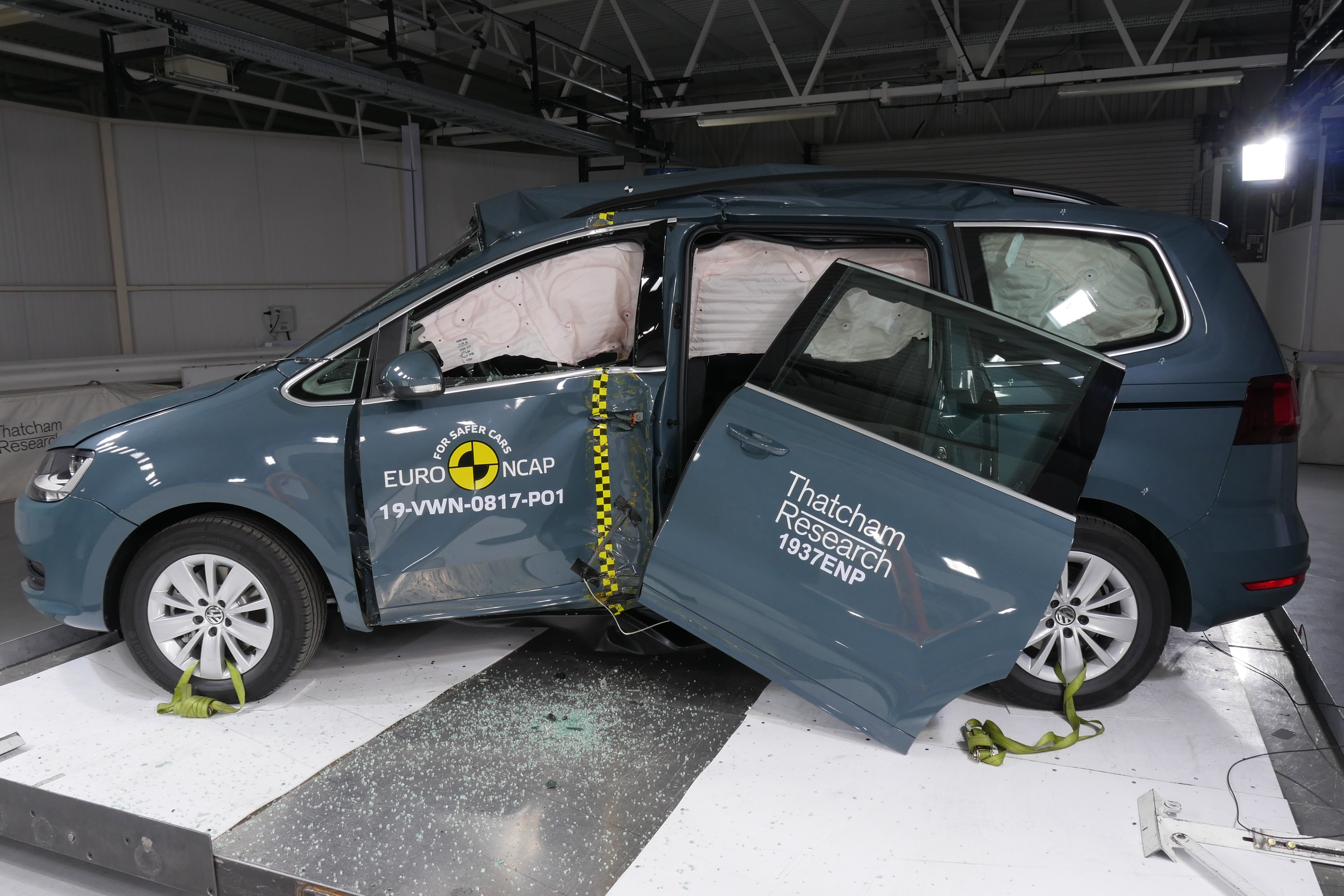 Volkswagen Sharan at NCAP training