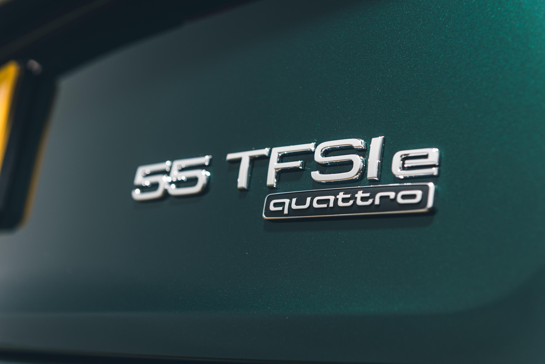 Audi TFSI e badge