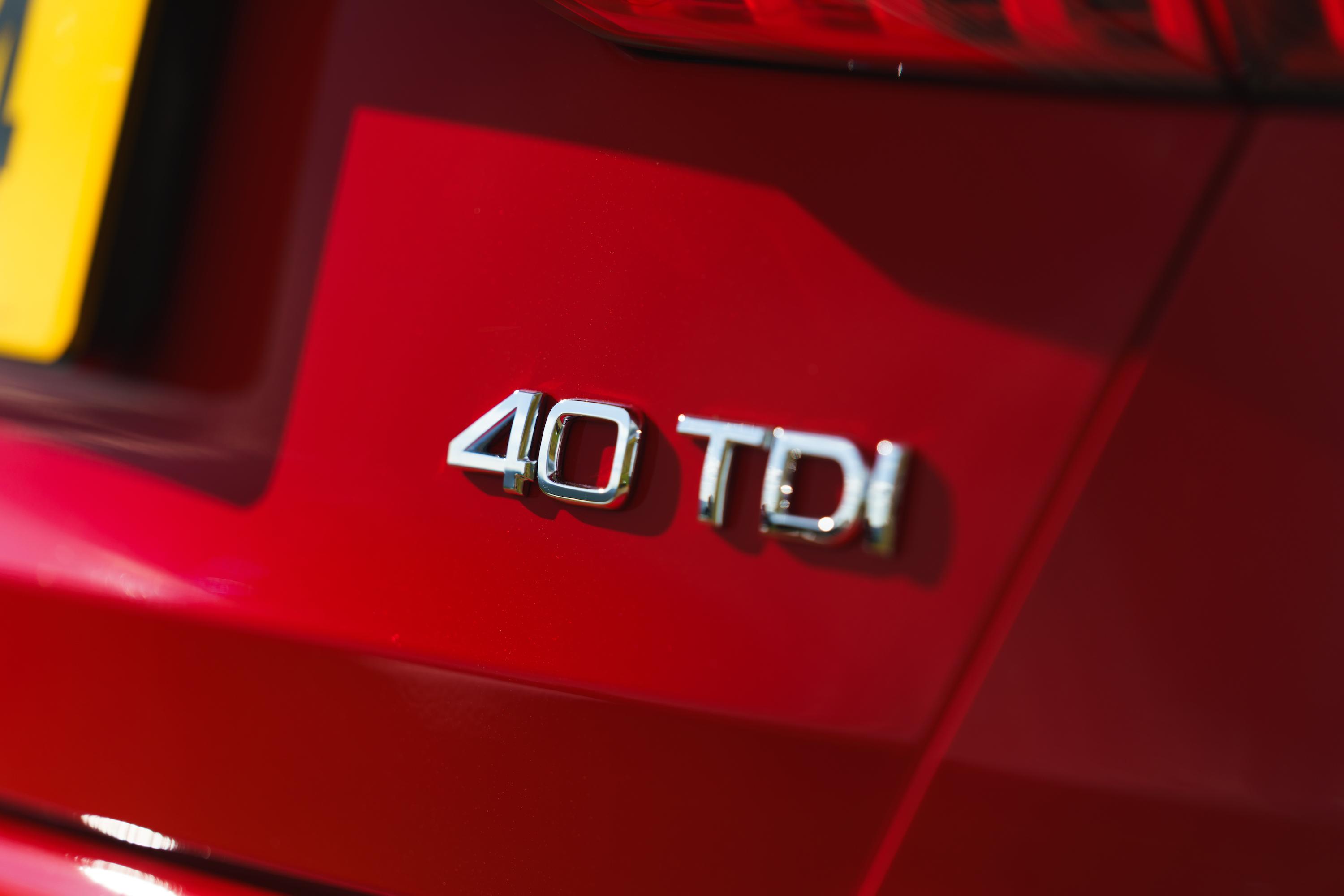 40 TDI badging