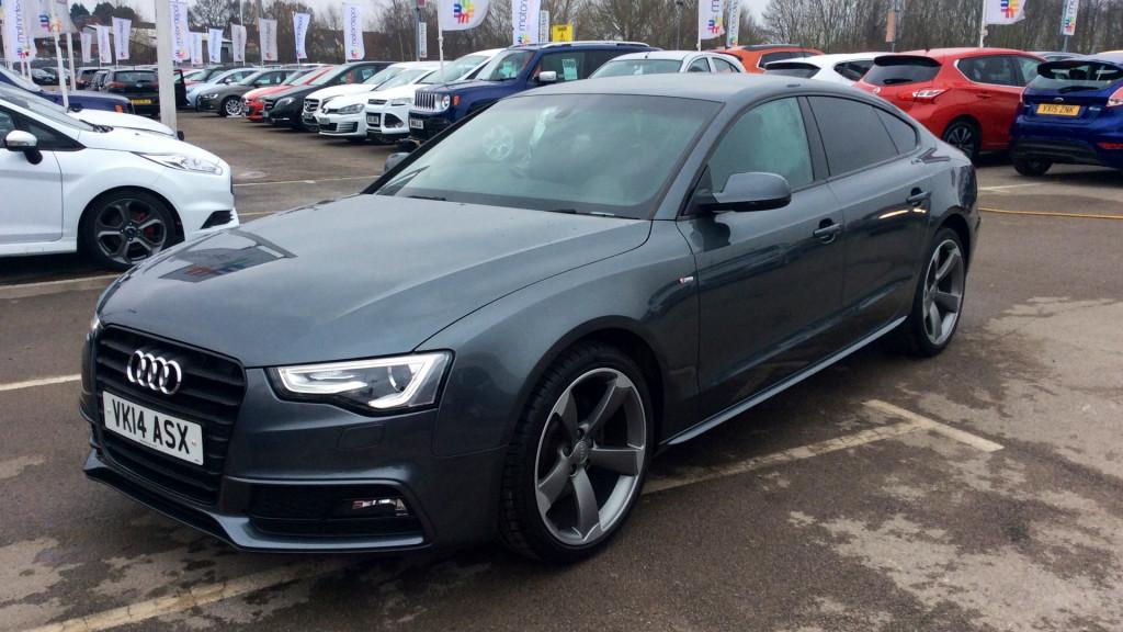 AUDI A5 SPORTBACK 2.0 TDI 177 Quattro Black Edition [5 Seat] VK14ASX | Audi A5 Sportback Black Edition |  | Motordepot
