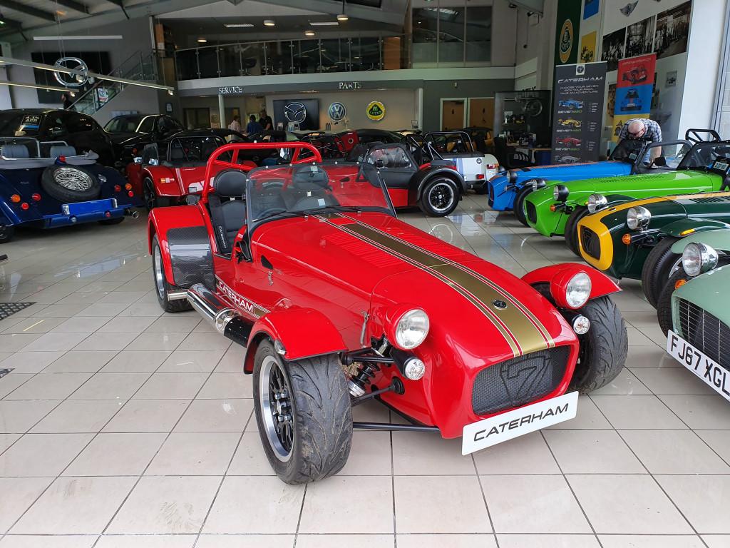 Caterham Cars Caterham Car Dealer Oakmere Motor Group